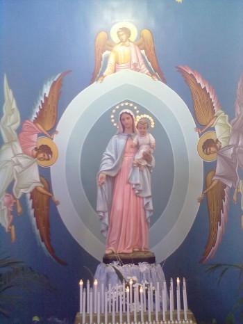 Statua della Madonna - Parrocchia Cristo Salvatore.jpg