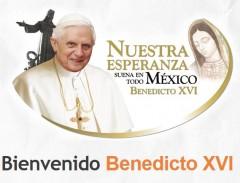 Papa Benedetto XVI in Messico : sosteniamolo con la PREGHIERA, VIAGGIO DEL PAPA, MESSICO E CUBA, MARZO 2012