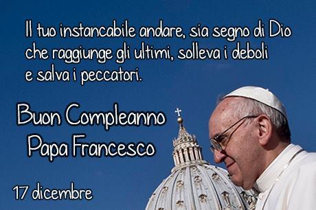 Buon compleanno Papa Francesco! | cosimo de matteis