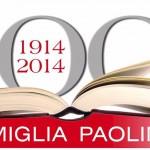 100 anni famiglia paolina LOGO