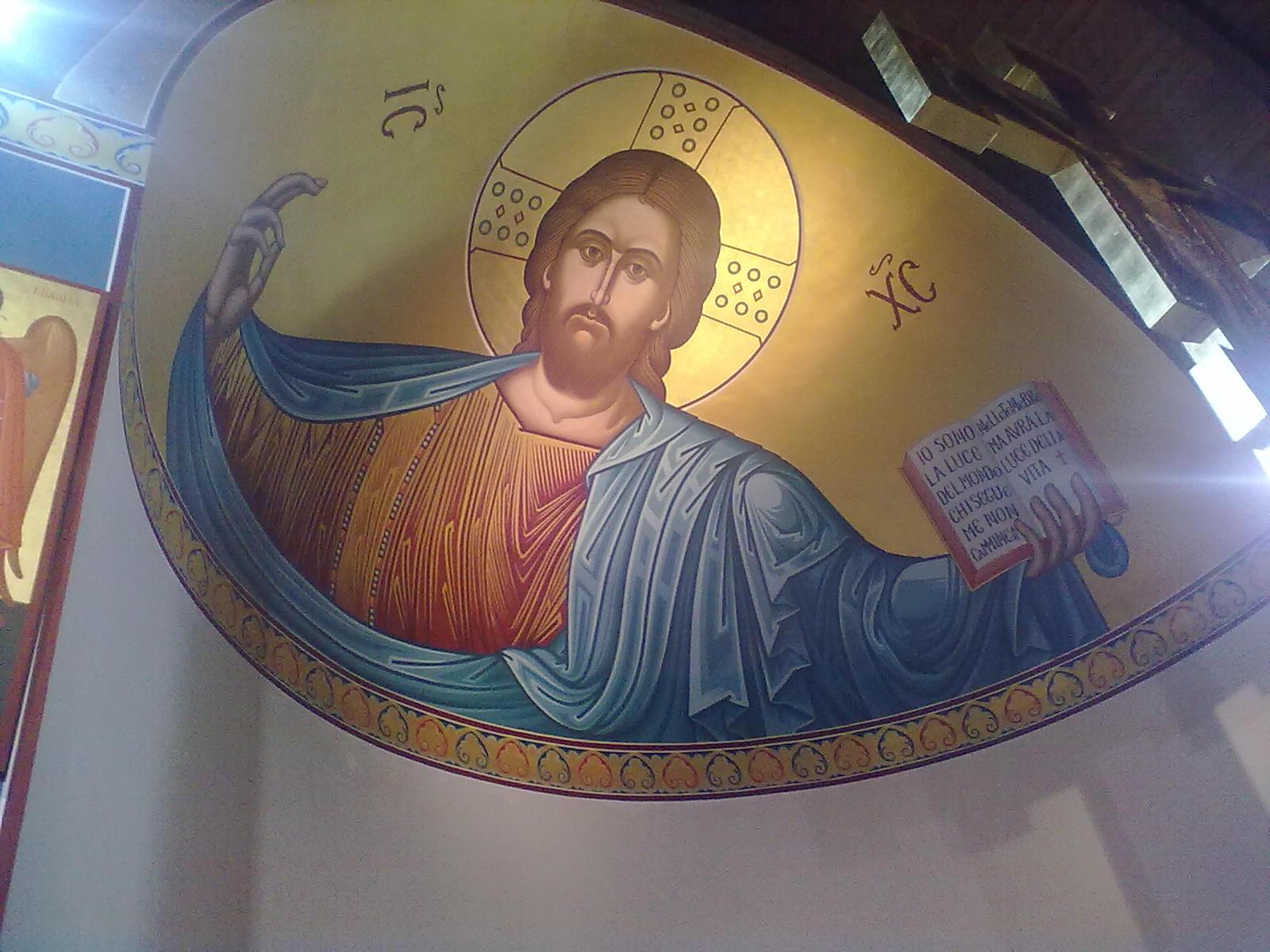 Cristo pantocratore , Brindisi- FOTO DI COSIMO DE MATTEIS