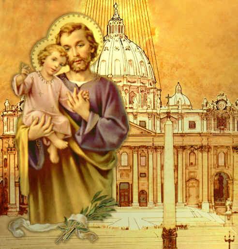 San Giuseppe, padre putativo di Gesù Cristo , e vero sposo di Maria Vergine  PREGATE  per noi e per gli agonizzanti di questo giorno (e di questa notte)